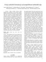 Uticaj razlicitih formulacija na kompatibilnost turbinskih ulja