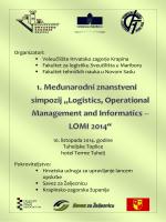 Organizatori: Veleučilište Hrvatsko zagorje Krapina Fakultet za