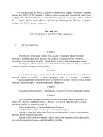 Na temelju članka 20. stavka 2. Zakona o