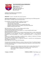 izvještaj - mnk črešnjevo črešnjevo