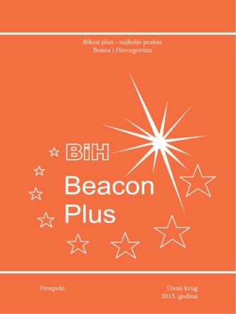 Bikon plus - najbolje prakse Bosna i Hercegovina Prospekt Osmi