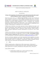 POZIV ZA DOSTAVU APLIKACIJA RFA-005-2013 Jačanje