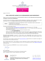 poziv i besplatne ulaznice za 48. međunarodni sajam marmomacc