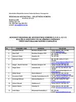 advokati regionalne advokatske komore sarajevo koji ţele zastupati