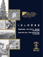Untitled - JU Gradska Galerija Bihać