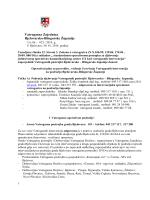 Operativni plan za provedbu, vođenje i izvršenje Vatrogasnih