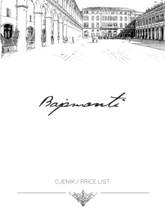 CJENIK / PRICE LIST