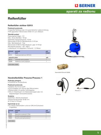 aparati za radionu Reifenfüller