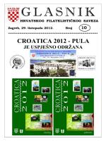 Glasnik Hrvatskog filatelističkog saveza br. 10/12
