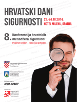 HDS 2014 program - korporativnabezbednost.rs