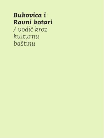 Bukovica i Ravni kotari / vodič kroz kulturnu baštinu