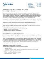 PREVENCIJA NASTANKA MALIGNOG MELANOMA bitna obilježja i
