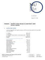 Izvješće o radu za 2013. - MUO