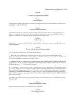 Zakon o likvidacijskom postupku