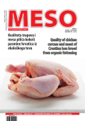 Quality of chicken carcass and meat of Croatian hen