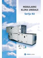 Modularni klima uređaj KU