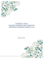 Izvješće o radu za 2013. godinu