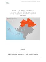 Lokalna razvojna strategija – NACRT