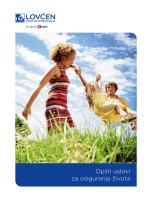 Opšti uslovi osiguranja života i posebni uslovi za nezgodu
