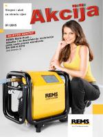 Strojevi i alati za obradu cijevi 01 / 2015