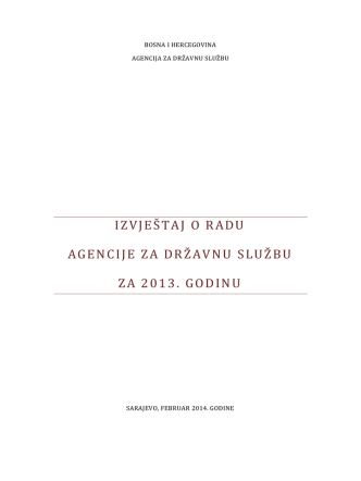 Agencija za državnu službu BiH