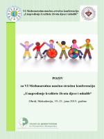 Unapređenje kvalitete života djece i mladih