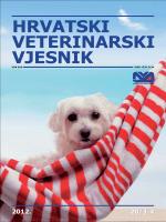 2012. 20/3-4 - Hrvatska Veterinarska Komora