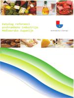 Katalog referenci prehrambene industrije Međimurske županije