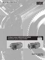 Trofazni motori DR/DV/DT/DTE/DVE Asinkroni - SEW