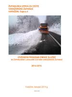 IZVEDBENI PROGRAM ZIMSKE SLUŽBE 2014.