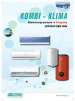 KOMBI - KLIMA klimatizacija prostora + besplatna potrošna topla voda
