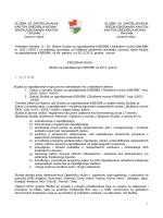 Program rada Službe ZZ SBK za 2013 godinu