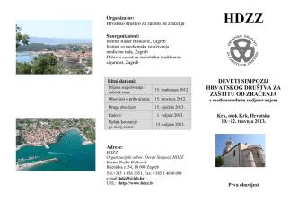 9 simpozij HDZZ Prvaobavijest.pdf