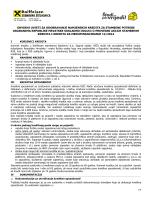 Okvirni uvjeti za odobravanje kredita važeći od 31.03.2014.