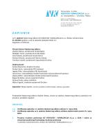 Zapisnik sa 7. sjednice Nadzornog odbora od 31.10.2014.
