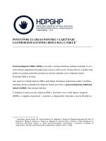 postupnik za dijagnostiku i liječenje gastroezofagusnog refluksa u