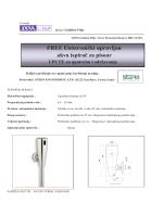 FREE Elektronički upravljan akva ispirač za pisoar