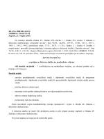 Natječaj - Viši stručni savjetnik - Državna komisija za kontrolu