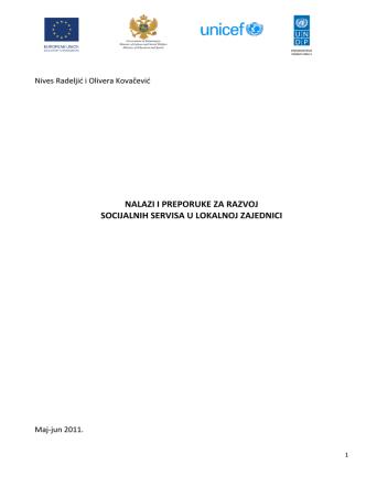 Cjelokupan izvještaj MNE
