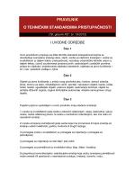 Pravilnik o tehničkim standardima pristupačnosti