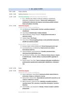 1. dan – petak, 11.4.2014 9:00 - Međunarodni kongres studenata