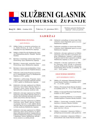 21 - 2011 - Međimurska županija