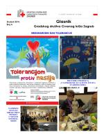 Glasnik GDCK Zagreb br.4 - Crveni Križ Grada Zagreba