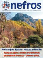 Peritonejska dijaliza - tekst za početnike Kamp za djecu i mlade s