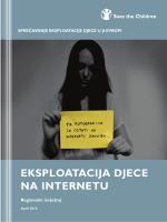 ekSploatacija djece na internetu - North West Balkans   Save the