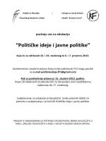 Politicke ideje – program - Savjet mladih Grada Opatije