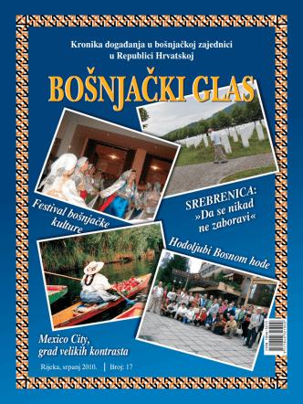BOŠNJAČKI GLAS - izdanje broj 17 - Vijeće bošnjačke nacionalne