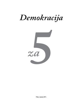 Demokracija - Centar za mlade Pula