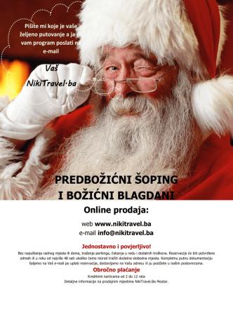 božić i božićni shopping