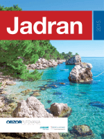 Jadran 2015. - Obzor putovanja